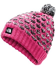 Little & Big Girls Chunky Pom Beanie
