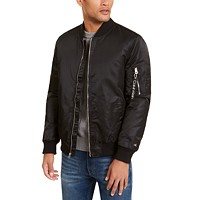 Deals on Calvin Klein Mens Bomber Flight Jacket
