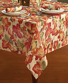 """Harvest Festival Fall Printed Tablecloth, 52""""x52"""""""