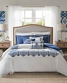 Indigo Sky Queen 8-Pc. Comforter Set