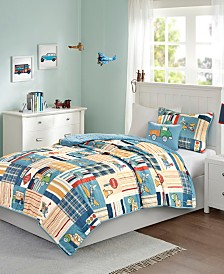 Mi Zone Kids Choo Choo Charlie Reversible 4-Pc. Coverlet Sets