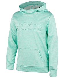 adidas Big Girls Embossed-Logo Hoodie