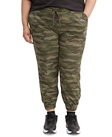 Trendy Plus Size  Jet Set Jogger Pants