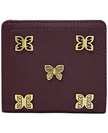 RFID Logan Butterfly Leather Bifold Wallet