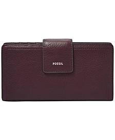 RFID Logan Leather Tab Wallet