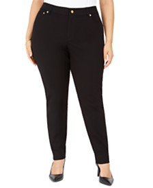 Michael Michael Kors Plus Size Skinny Pants