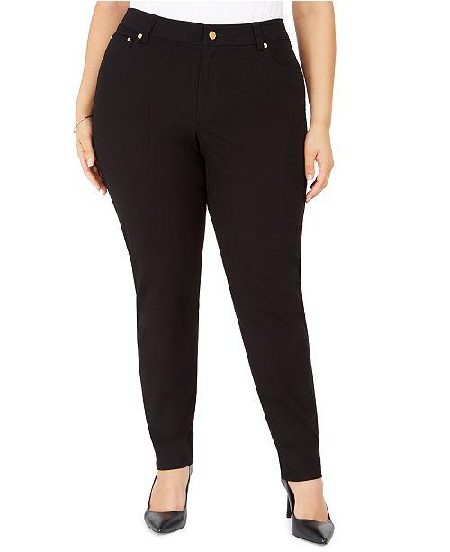 Michael Kors Plus Size Skinny Pants