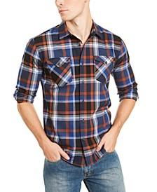 Men's Zuni Regular-Fit Plaid Shirt