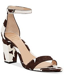 INC Women's Kivah Two-Piece Sandals, Created for Macy's