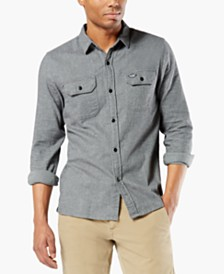 Dockers® Men's Alpha Modern-Fit All Seasons Tech™ Flannel Shirt