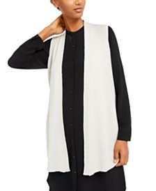 Eileen Fisher Long Sweater Vest