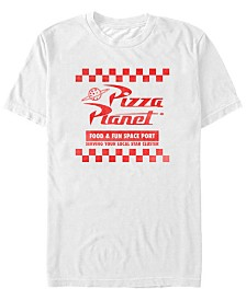 Disney Pixar Men's Toy Story Pizza Planet Uniform Short Sleeve T-Shirt
