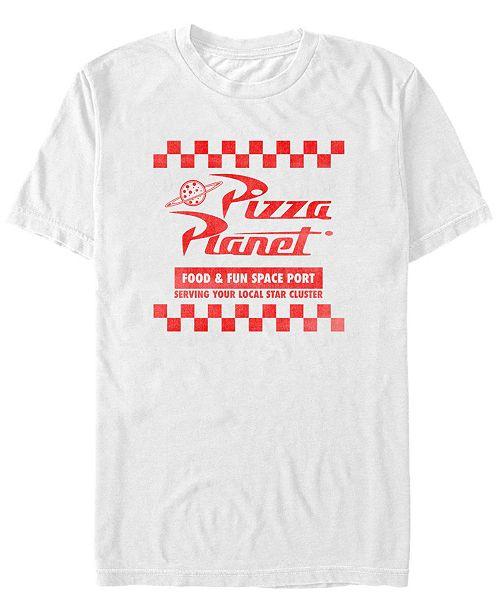Toy Story Disney Pixar Men's Pizza Planet Uniform Short Sleeve T-Shirt