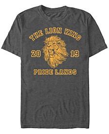 Disney Men's The Lion King Live Action Mufasa Pride Lands Poster Short Sleeve T-Shirt