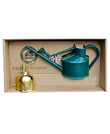 Bosmere Haws Spray n Sprinkle Gift set with Handy Watering can Brass Mister