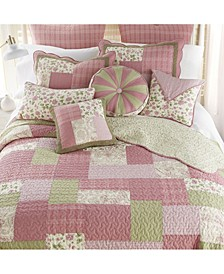 Bashful Rose Cotton Quilt Collection