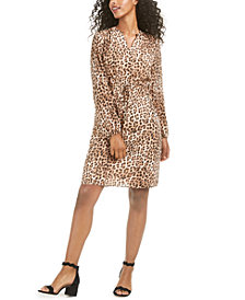 Maison Jules Printed Clip-Dot Dress, Created for Macy's