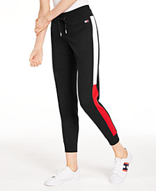 Tommy Hilfiger Plus Size Varsity Panel Sweatpants