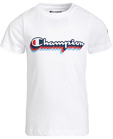 Champion Little Boys Logo T-Shirt