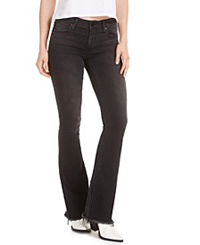 Faith Black Flare Jeans