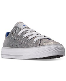 Converse Little Girls Chuck Taylor All Star Galaxy Glimmer Casual Sneakers from Finish Line