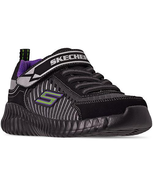 Skechers Little Boys Elite Flex Spectropulse Stay-Put Closure Running Sneakers from Finish Line