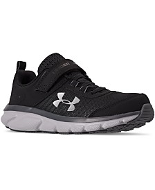 Under Armour Little Boys Assert 8 Stay-Put Closure Athletic Training Sneakers from Finish Line