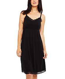 Babydoll Clip-Down Nursing Nightgown