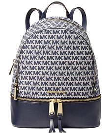 Michael Michael Kors Rhea Leather Zip Backpack