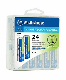 AA 1.2V Always Ready Solar Battery ( 24 Pack )