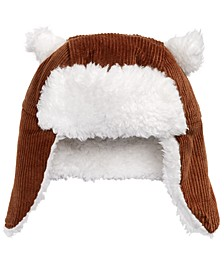 Baby Boys & Girls Faux Fur-Trim Corduroy Hat, Created for Macy's