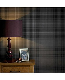 Graham Brown Audrey Charcoal Wallpaper