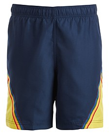 Big Boys Colorblocked Swim Shorts