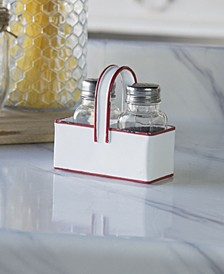 VIP Home International Metal Salt and Pepper Shaker with Trim