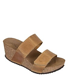 Axxiom Autumn Wedge Sandals