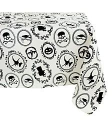 Design Imports Halloween Portrait Tablecloth