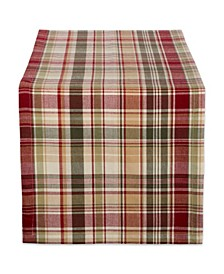 Give Thanks Plaid Table Runner