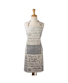 Christmas Collage Chef Apron