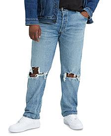 Levi's Men's Big & Tall 501 Straight Fit Jeans
