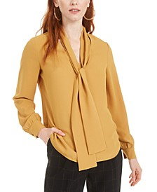 Tie-Neck Blouse, Created for Macy's