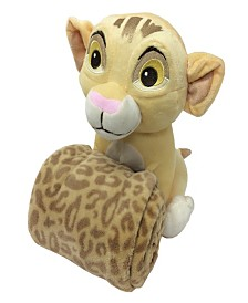 Disney Lion King Simba Plush Toy & Blanket Gift Set