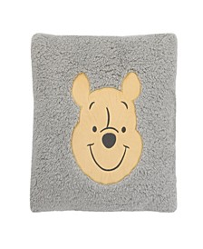 Winnie the Pooh Sherpa Pillow With Applique
