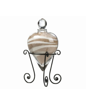 Lillian Rose Heart Unity Sand Vase with Stand