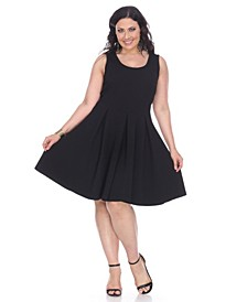Women's Plus Size Crystal Dress