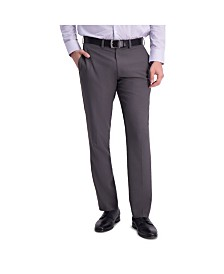 Louis Raphael Comfort Stretch Stria Slim Fit Flat Front Dress Pant