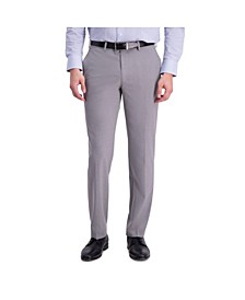 Comfort Stretch Solid Skinny Fit Flat Front Dress Pant