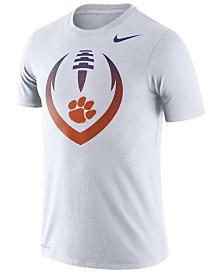 Nike Men's Clemson Tigers Dri-Fit Cotton Icon T-Shirt