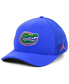 Jordan Florida Gators Aerobill Swooshflex Stretch Fitted Cap