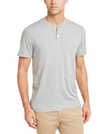 Club Room Men's Heather Henley, Created for Macy's