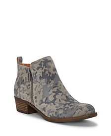 Women's Basel Leather Booties